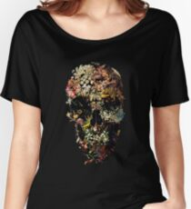 Smyrna Skull Women's Relaxed Fit T-Shirt