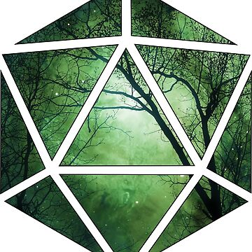d20 forest - green by s3w4g3