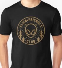 Alien Friendly Club Unisex T-Shirt