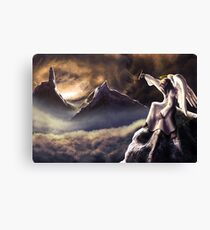 When I Die Canvas Print