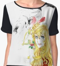 The rose of Versailles - Lady Oscar & André Women's Chiffon Top