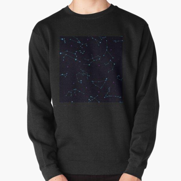 Zodiac constellations pattern Pullover Sweatshirt