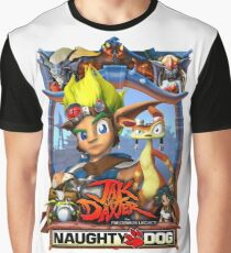 Jak & Daxter - Promo Poster Graphic T-Shirt