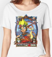 Jak & Daxter - Promo Poster Women's Relaxed Fit T-Shirt