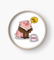 Reloj Waddles el cerdo