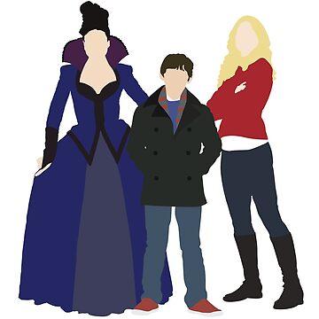 Swan Mills Family by eevylynn