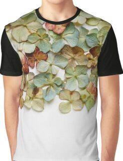 Hydrangea Petals no. 1 Graphic T-Shirt