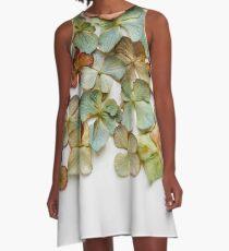 Hydrangea Petals no. 1 A-Line Dress