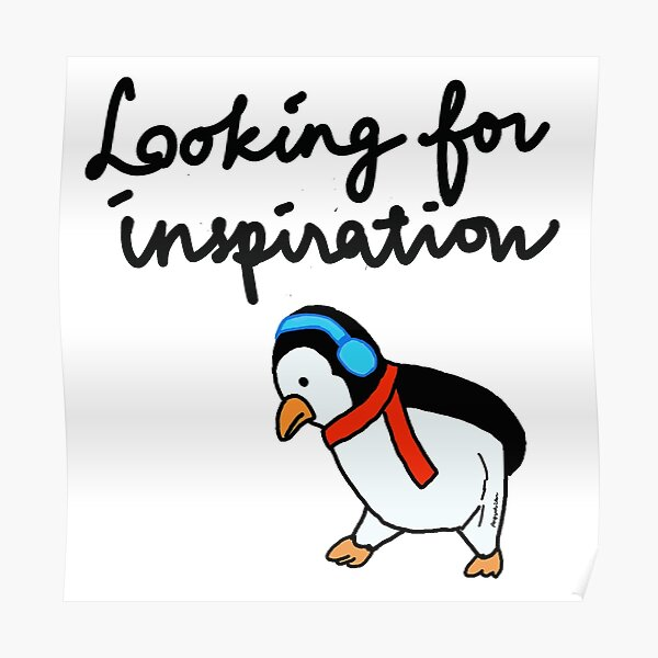 Penguin Inspiration Poster