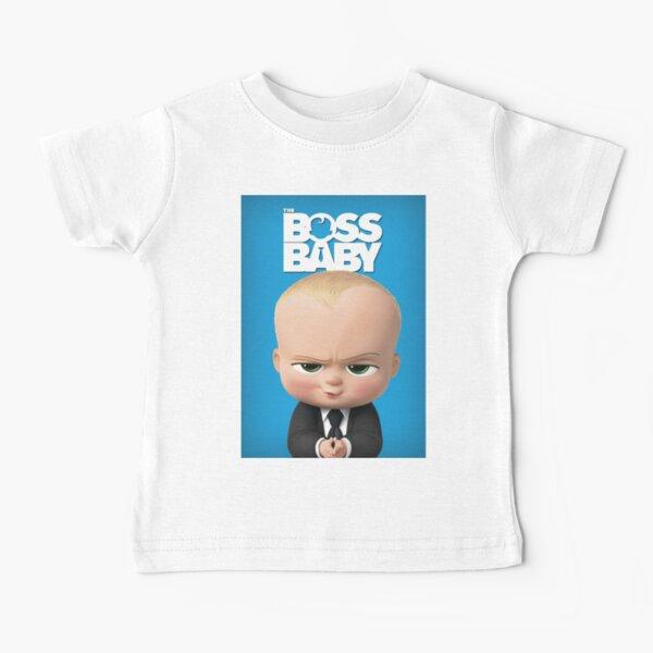 The Cute Boss Baby Baby T-Shirt