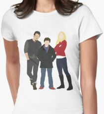 Swanfire Family Womens Fitted T-Shirt