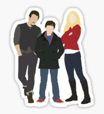 Swanfire Family Sticker