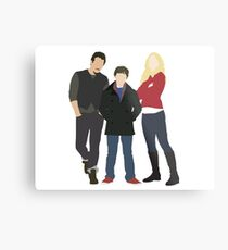 Swanfire Family Metal Print