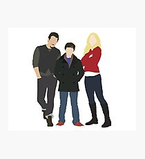 Swanfire Family Photographic Print