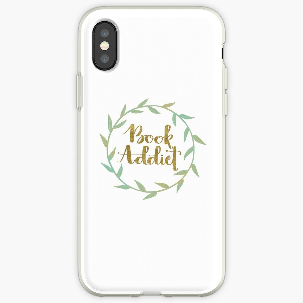 Buchsüchtiger iPhone-Hülle & Cover