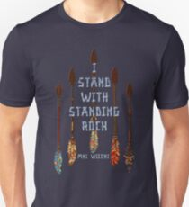 I Standing with Standing Rock - MNI WICONI T-Shirt