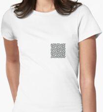 Abstract Polka Dot Pattern T-Shirt