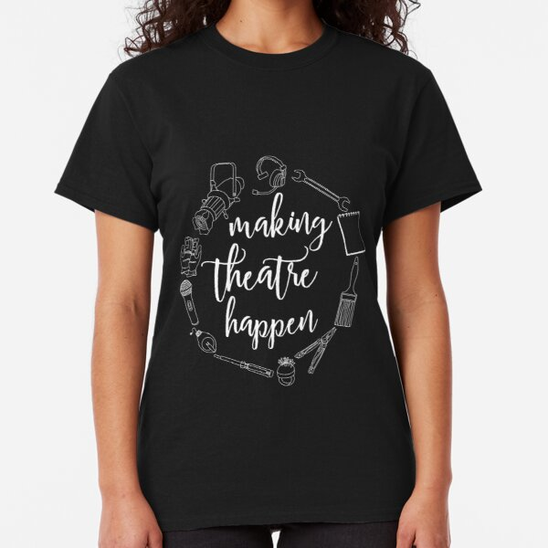 Fueled by Theatre /& Tea High School T-Shirt