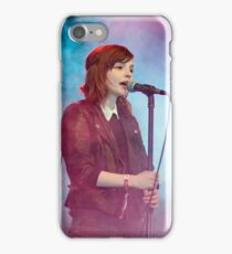 Chrvches Lauren Mayberry iPhone Case/Skin
