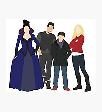 Swanfire Queen Family Photographic Print