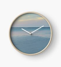 cable beach reef sunset  Clock