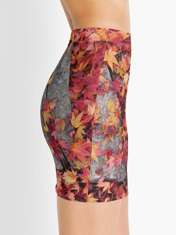 Alternate view of MomijiKi Ishi Mini Skirt