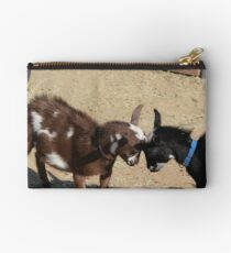 Goat's Butting Heads Studio Pouch