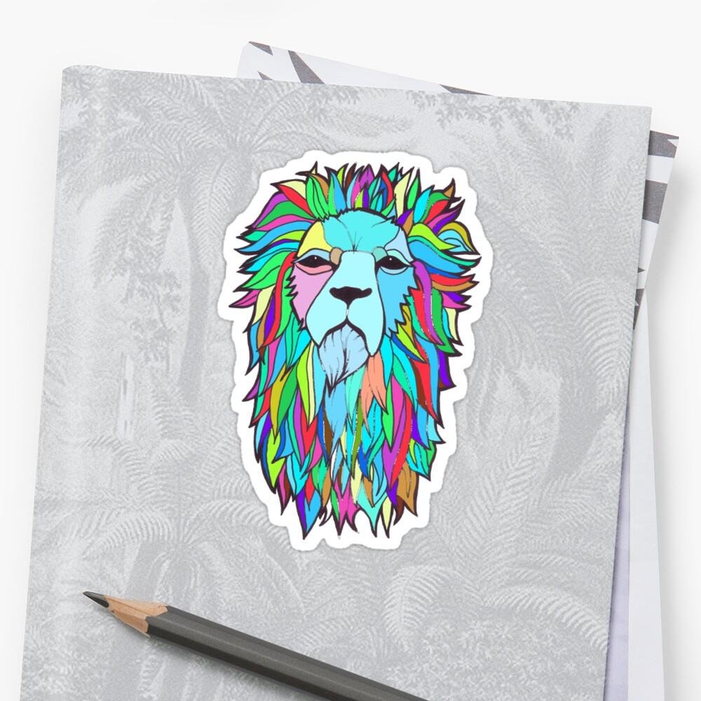 Psych Lion by DoodlesAndStuff