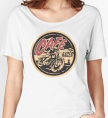 The Official Cafe Racer TV Logo Women's Relaxed Fit T-Shirt