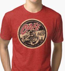 a6e259f84 The Official Cafe Racer TV Logo Tri-blend T-Shirt