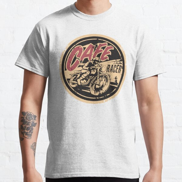 The Official Cafe Racer TV Logo Classic T-Shirt