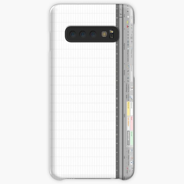 Excel Spreadsheet Samsung Galaxy Snap Case
