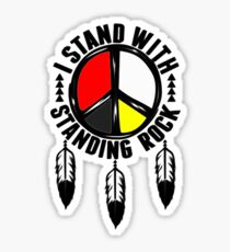 stand with standing rock Sticker