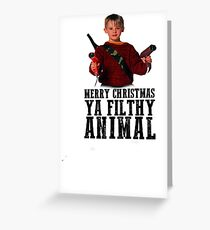 Home Alone - Kevin McCallister Greeting Card