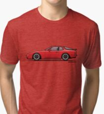 India Red 1986 P 944 951 Turbo (US spec) Tri-blend T-Shirt