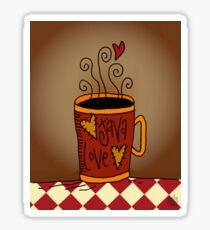 Java Love Sticker