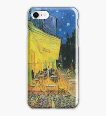 Vincent van Gogh Cafe Terrace at Night iPhone Case/Skin