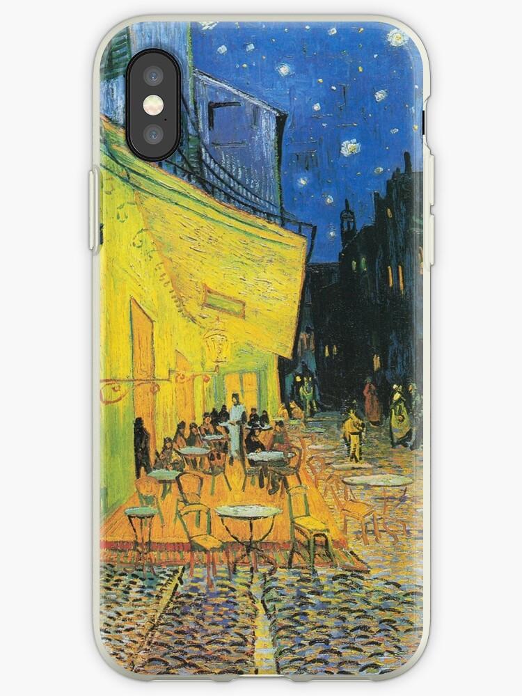 Vincent Van Gogh Cafe Terrasse Bei Nacht Iphone Hullen Cover Von