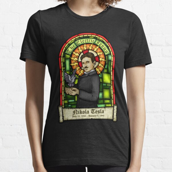 Tesla: The Electric Jesus Essential T-Shirt