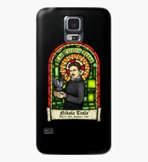 Tesla: The Electric Jesus Case/Skin for Samsung Galaxy