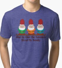 One By One The Gnomes Tri-blend T-Shirt