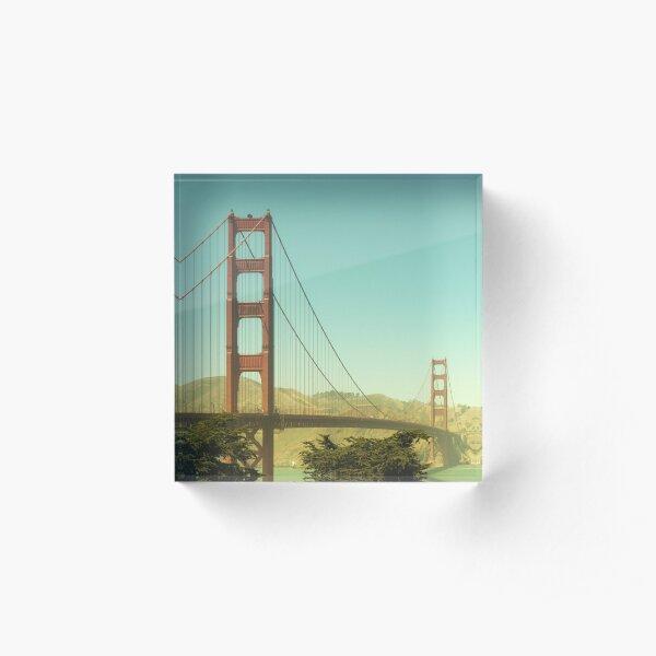 Golden Gate Bridge Acrylic Block
