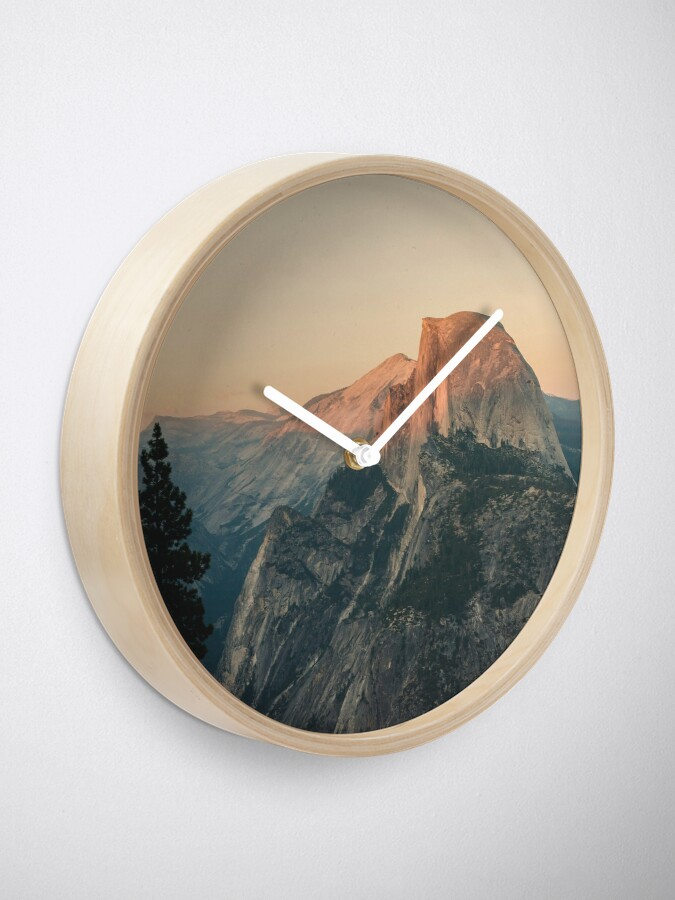 Alternate view of Half Dome III Clock
