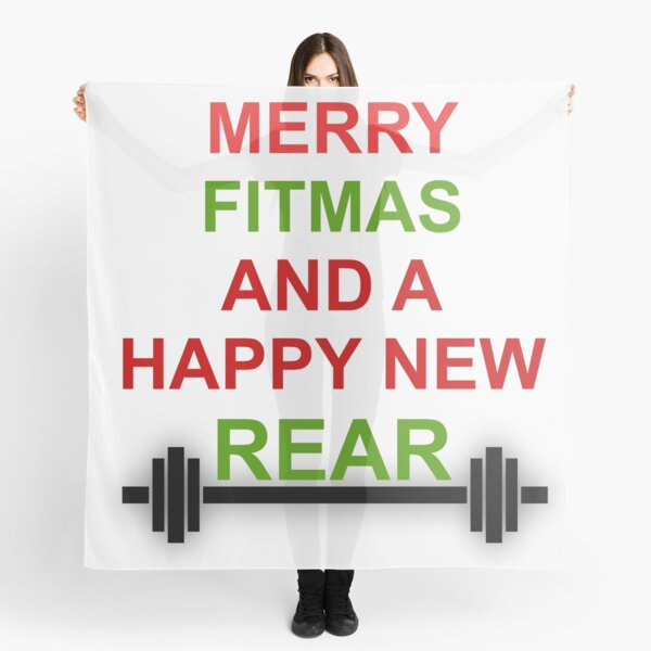EXERCISE: MERRY FITMAS Scarf