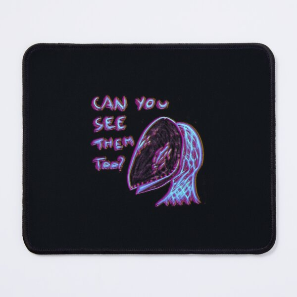 can you see them too? disco Mouse Pad