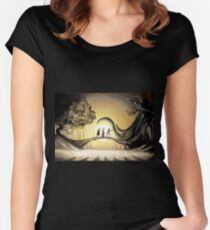The Story of the Three Brothers  Women's Fitted Scoop T-Shirt