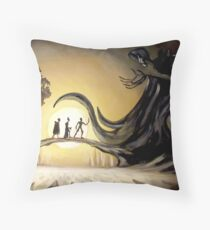 The Story of the Three Brothers  Throw Pillow