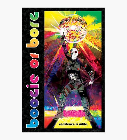 Borg Boogaloo Photographic Print