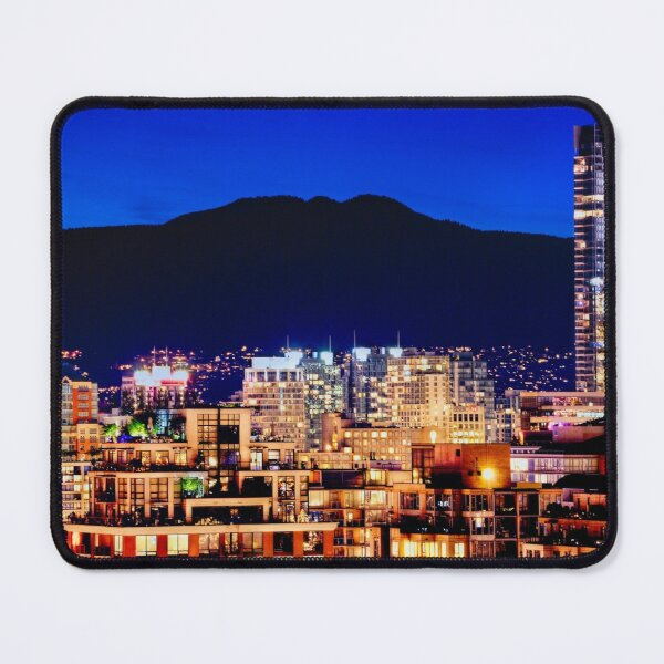 0596 Vancouver Shangri La Hotel Grousse Mountain Canada | Hotel Office Wall Art Home Décor Mouse Pad