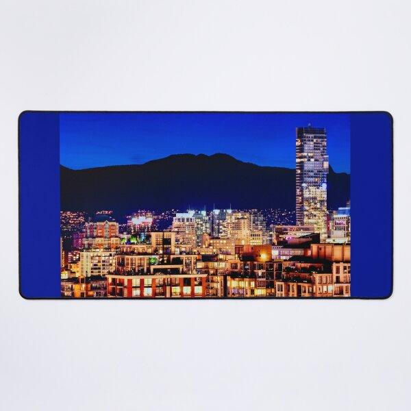 0596 Vancouver Shangri La Hotel Grousse Mountain Canada | Hotel Office Wall Art Home Décor Desk Mat